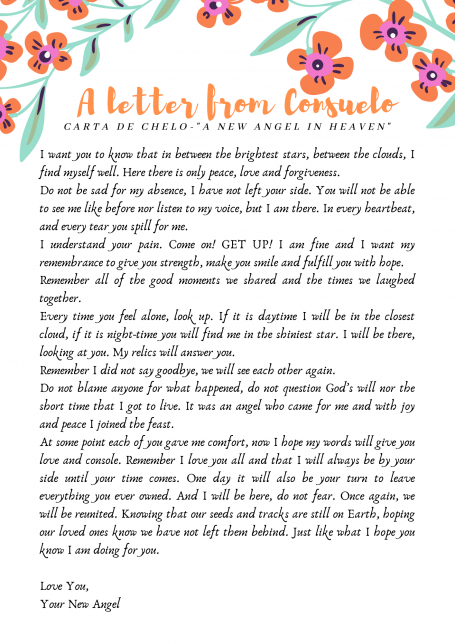 A Letter From Consuelo image